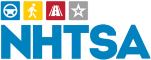 National Highway Traffic and Safety Administration logo