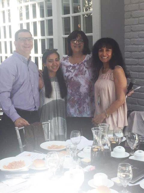 Nassau NYAPT Scholarship Winner Stephanie Tavel with her Family